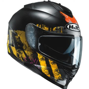 HJC IS-17 Shapy Yellow MC3SF Full Face Motorcycle Helmet Free Pinlock